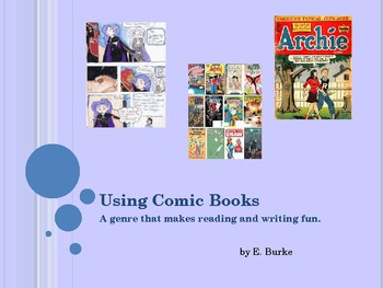 Using Comic Books In The Classroom