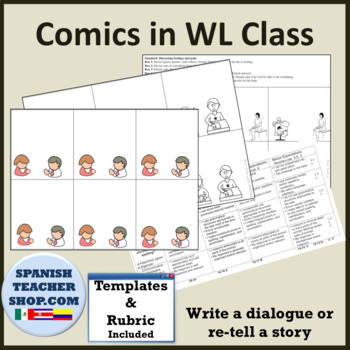 Using Comics for Dialogues or Storytelling in Foreign Language