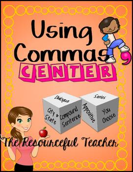 Using Commas Center - FREE