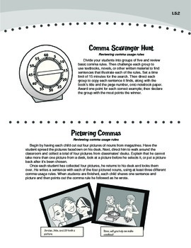 Using Commas Correctly (Common Core L.5.2)