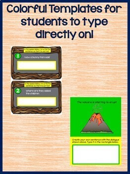 Using Commas in Dialogue and Quotation Marks for Google Drive L.3.2.C