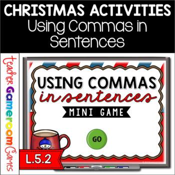 Using Commas in Sentences Mini Powerpoint Game