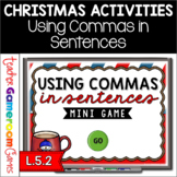 Using Commas in Sentences Mini Powerpoint Game