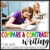 Using Compare and Contrast to Inform/Explain: A Writer's Workshop