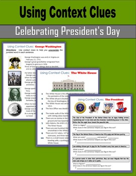 Using Context Clues (Celebrating President's Day)