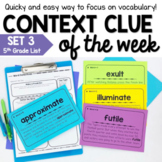 Context Clues Practice Activities