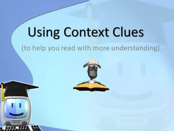 Context Clues Interactive Powerpoint Word Strategies