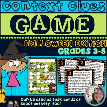HALLOWEEN Edition: Using Context Clues to Determine Word M
