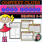 Task Cards: Made up Words Context Clues