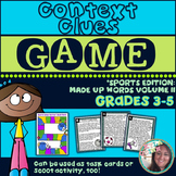 Using Context Clues to Determine Word Meaning: Sports Edition Game
