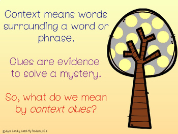 Using Context Clues to Determine Word Meanings for Bright Students