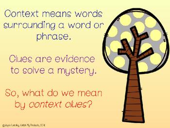 Context Clues Passages