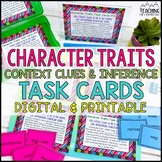 Using Context Clues to Infer Character Traits Task Cards