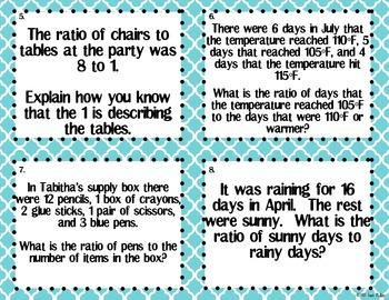 Using Context to Write Ratios