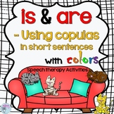is and are activities for speech therapy