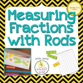 Using Cuisenaire Rods to Compare Fractions