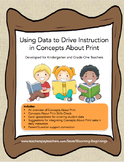 Using Data to Drive Instruction in Concepts About Print