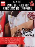 Using Decimals for Christmas List Shopping