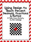 Using Design to Teach Percent, Decimals, Fractions & Ratios - QR Code