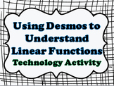 Linear Functions Technology Lesson