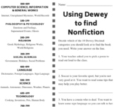 Using Dewey to Find Nonfiction