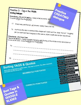 Using Dialogue to Revise & GOOGLE Interactive Practice