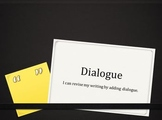 Using Dialogue to Revise student writing