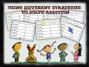 Using Different Strategies to Solve Addition Problems