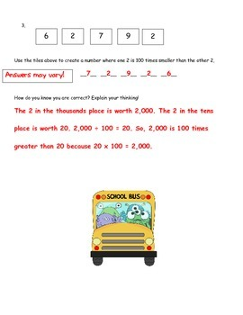Using Division to Compare Place Value