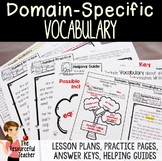 Using Domain-Specific Vocabulary in Informative Writing