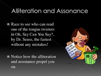 Using Dr. Seuss to Teach Alliteration, Assonance, and Allegory