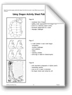 Using Dragon Activity Sheet Patterns