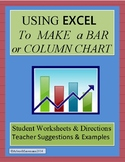 Using EXCEL to Create a Bar or Column Chart