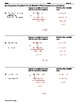 Using Elimination to Solve a System of Equations Worksheet II