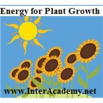 Using Energy From The Sun: Energy for Plant Growth (Week Four)