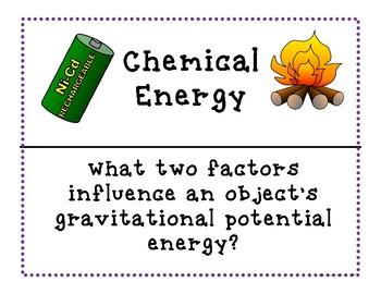 Using Energy and Heat Around the Room Activity