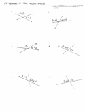 Using Equations to Find Missing Supplementary Angles (comm