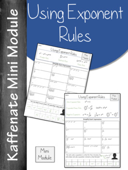 Using Exponent Rules   (Mini Module)
