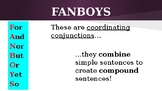 Using FANBOYS to Create Compound Sentences
