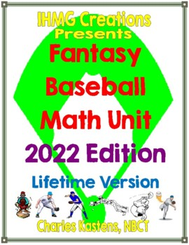 Fantasy Baseball Unit: An Engaging Way to Reinforce Math Skills (Common Core)