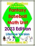 Fantasy Baseball Unit: An Engaging Way to Reinforce Math Skills (Common Core)