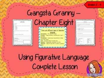 Using Figurative Language Complete Lesson  – Gangsta Granny