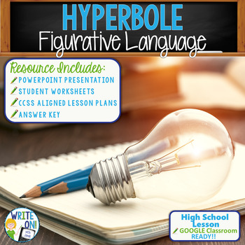 HYPERBOLES - Figurative Language - High School