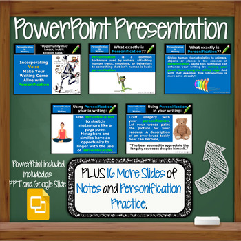 Personification In Figurative Language Lesson W Ppt Worksheets