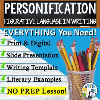 PERSONIFICATION - Figurative Language - High School