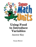 Using Food to Introduce Variables Unit