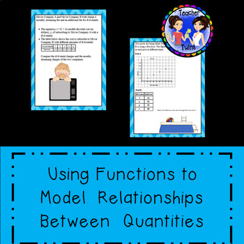 Using Functions to Model Relationships Between Quantities Common Core 8.F.B.4