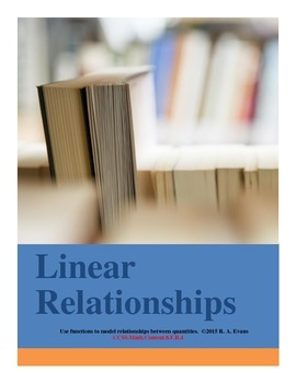 Using Functions to Model Relationships between Quantities