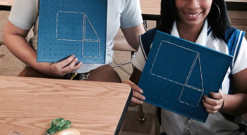 Using Geoboards to Solidify Understanding of the Pythagorean Theorem Activity!