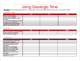 Using Geologic Time